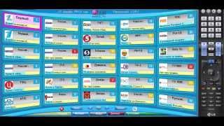Виджеты для SMART TV Samsung и LG Русские iptv каналы и фильмы