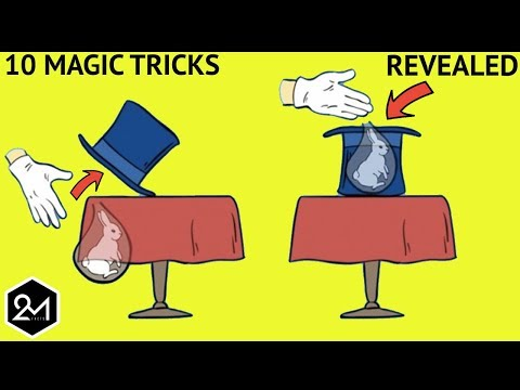 Top 10 Greatest Magic Tricks Of All Time Revealed Part 2