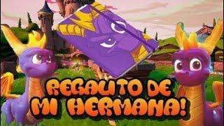 ¡Regalo de mi hermana! | ¡UNBOXING DE LIBRETA/CUADERNO DE SPYRO THE DRAGÓN!