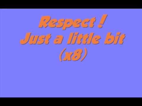 Melanie Amaro - Respect - Lyrics