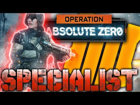 New Specialist ZERO Black Ops 4 (Operation Absolute Zero)