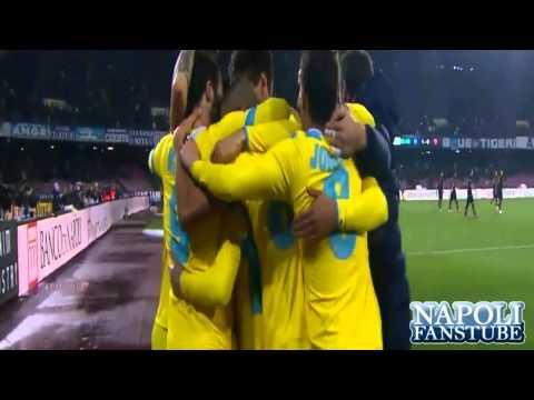 Napoli-Roma 3-0 - Auriemma Mix Gol Flash - Coppa Italia - NapoliFansTube