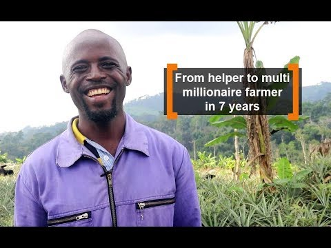 Cameroon: From helper to multi millionaire farmer in 7 years