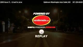 2006 acura tl navigation for sale in hanover md 21076