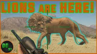 LION HUNTING the Right Way!! TheHunter Call of the Wild 2019