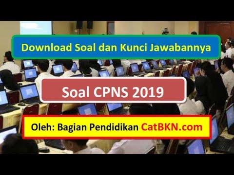Download Soal Cpns 2019 Dan Kunci Jawabannya Pdf Radio Or Id