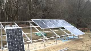 Icarus Electrical & Solar Ltd - 4kW Ground Mount Video