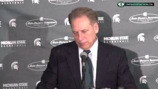 Tom Izzo Press Conference: Michigan State 72 Purdue 66