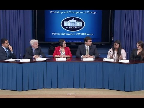 White House Champions of Change: Summer Opportunity