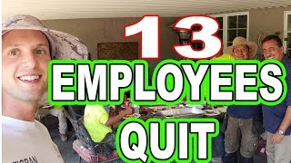 13 Employees Quit At the Same Time in Landscaping Business