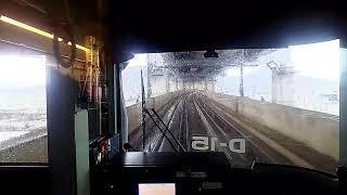 【前面展望】(レア)JR四国 本四備讃線 琴平行きJR西日本115系普通列車 児島→多度津