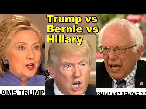 #TrumpleThinSkin v Bernie v Hillary! Donald Trump, Bernie Sanders & MORE! LV Sunday Clip Roundup 163