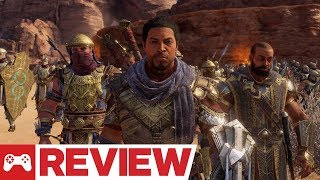Middle-earth: Shadow of War - The Desolation of Mordor DLC Review (Video Game Video Review)
