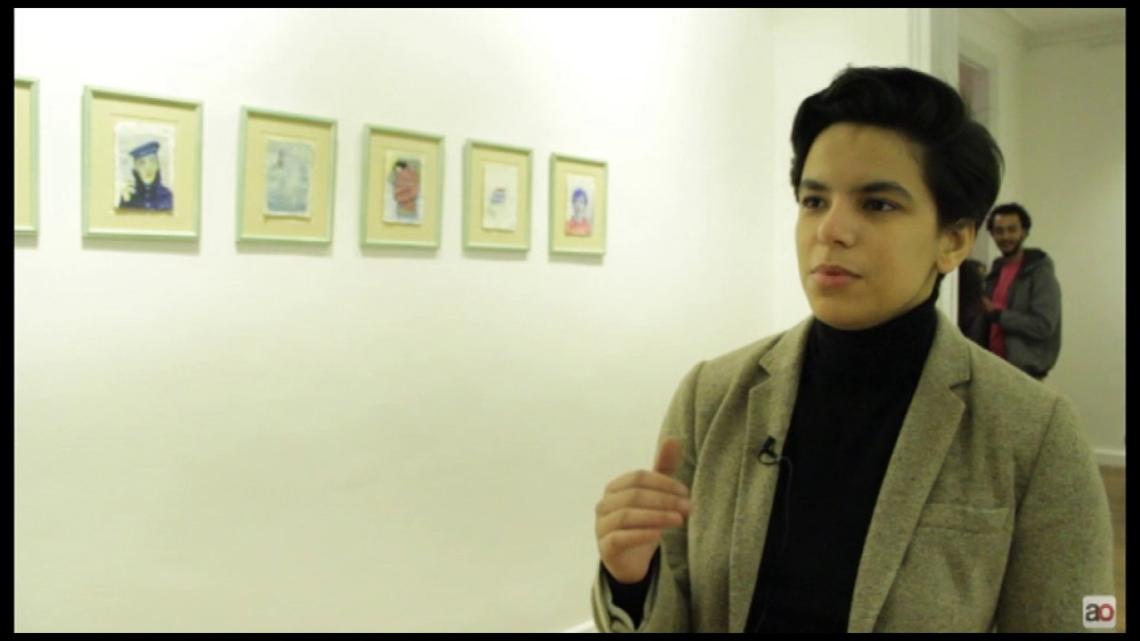 Street artist Aya Tarek at Soma Gallery, on working between two cities