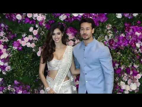 Disha Patani In Hot White Saree With Tiger Shroff thumbnail