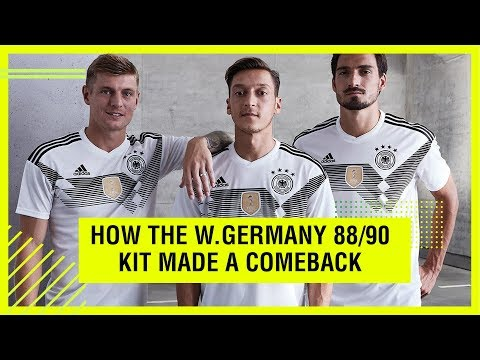 HOW A CLASSIC WEST GERMANY KIT MADE A 2018 COMEBACK