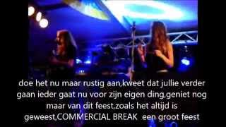 SPLASH-zingt afscheidsliedje-Commercial break-kermis Giesbeek -9-09-2014