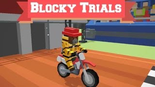 BLOCKY TRIALS | MOTOCROSS GAMES