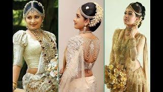 Sri Lankan Wedding Saree Blouse Designs Exclusive