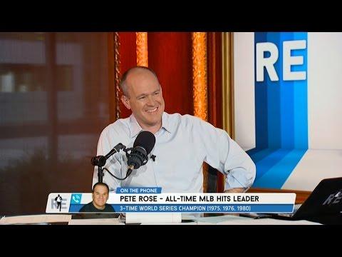 All Time MLB Hits Leader Pete Rose Talks Ichiro Suzuki, Ken Griffey Jr. & More - 7/25/16