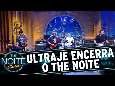 The Noite (20/07/16) - Ultraje a Rigor encerra o programa desta quarta