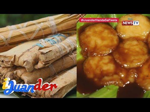 iJuander: Mga sikat na pagkain tuwing piyesta sa Tayabas, Quezon