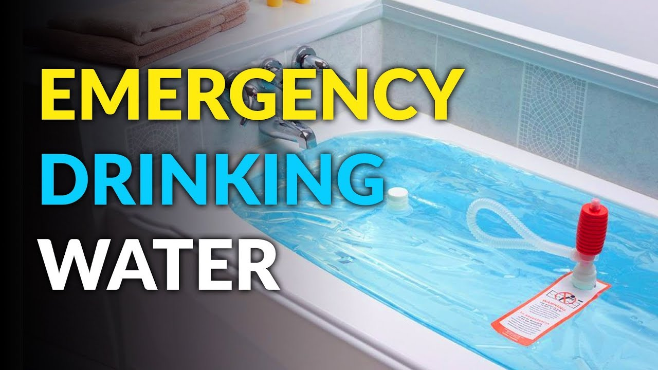 WaterBob: Emergency Bathtub Drinking Water Container - YouTube