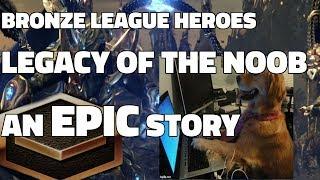 BRONZE LEAGUE HEROES #48 - LEGACY OF THE NOOB - Baphomet v ghostzergs
