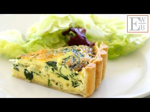 Beth's Foolproof Spinach Quiche Recipe | ENTERTAINING WITH BETH