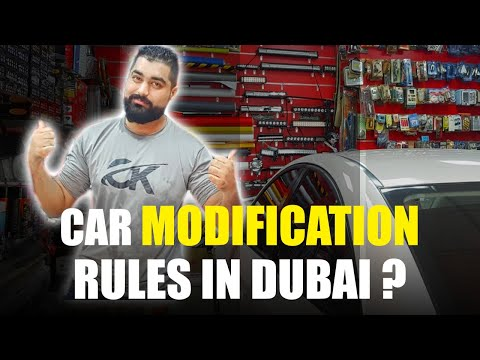 Car Modification Rules in Dubai  | How to Legally Modify Your Cars In UAE ( Hindi / Urdu )