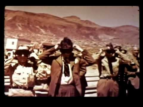 NUCLEAR EXPLOSION - OPERATION TEAPOT - US MILITARY ATOMIC TEST FILM