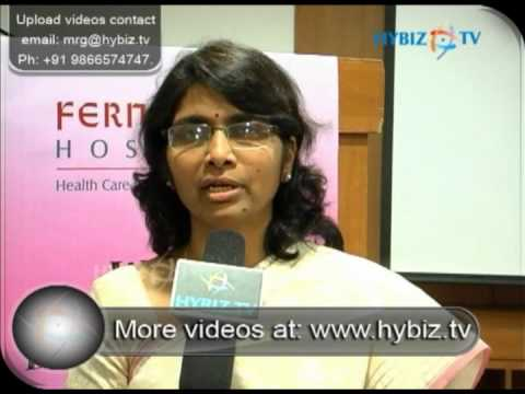 Dr  Anupama Reddy, Fernandez Hospitals - hybiz tv