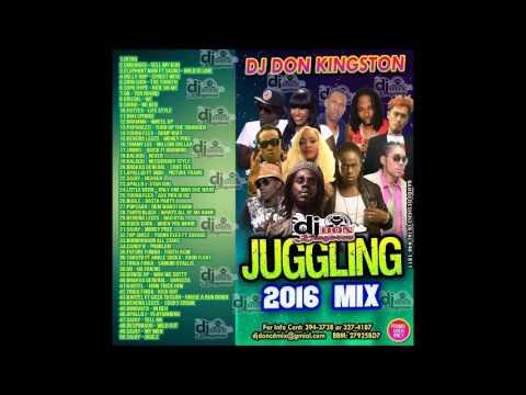 Dj Don Kingston Juggling  Mix 2016