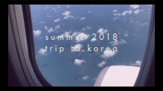 korea travel montage