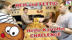 HEIß UND FETTIG | Heiße Kartoffel Challenge | TipTapTube Spielzeug