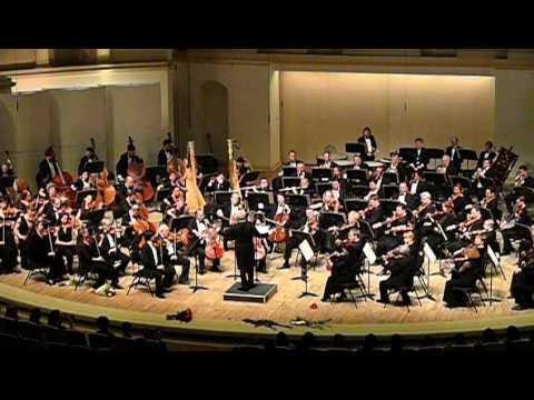 Национальный филармонический оркестр под управлением Владимира Спивакова.