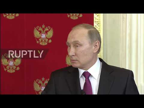Russia: Putin warns of planned 'false-flag' chemical operation in Damascus