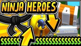 """""""OBTENIR SUPER OP DANS NINJA HEROES SIMULATEUR!!"""" Ninja Heroes [NOUVEAU!] RELEASE UPDATE 2019 (Roblox)"""