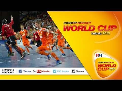 Germany vs Netherlands - Full Match Men's Indoor Hockey World Cup 2015 Germany Semi-Final