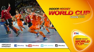 Germany vs Netherlands - Full Match Men's Indoor Hockey World Cup 2015 Germany Semi-Final(Watch complete Semi-Final match coverage as the Germany produce a dramatic fight back to go through to a shoot-out with the Netherlands at the Indoor ..., 2015-02-07T20:16:11.000Z)