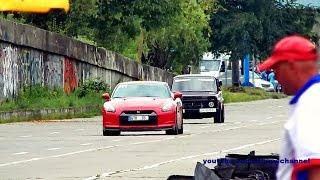 بالفيديو.. 'لادا' تقهر سيارة 'نيسان' الأسطورية فى سباق للسرعة