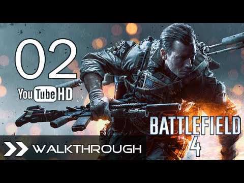 Battlefield 4 Walkthrough Gameplay BF4 Campaign - Part 2 (Mission 2 - Shanghai 1/2) No Commentary