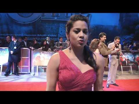 Shahana Goswami Interview Ra.One London Premiere