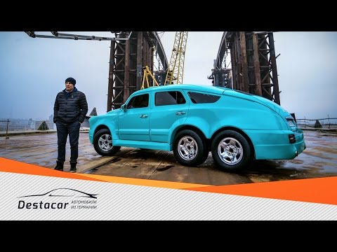 6 колесная Победа, Тест драйв в Киеве 2016