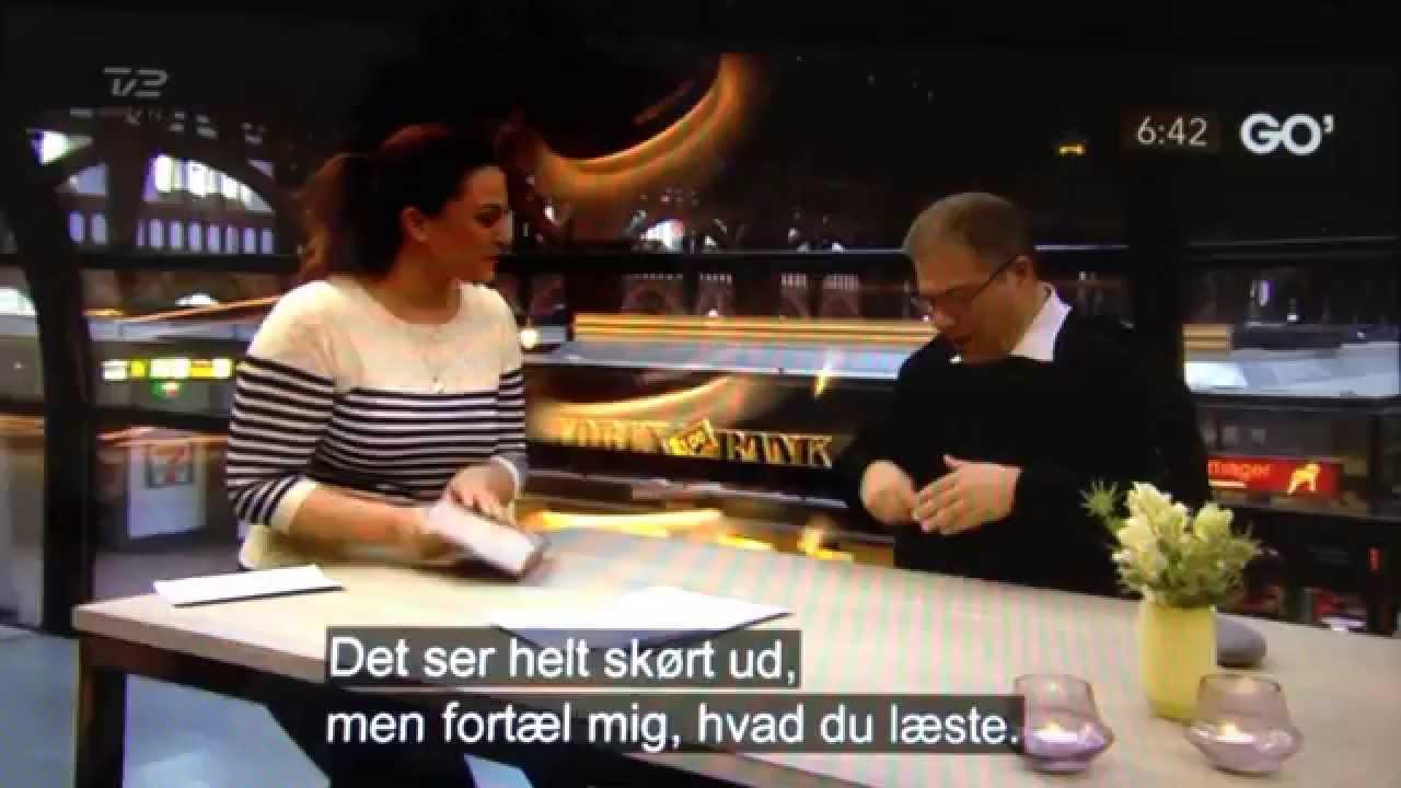 Verdens hurtigste læser Howard Berg i Go' Morgen Danmark 2015