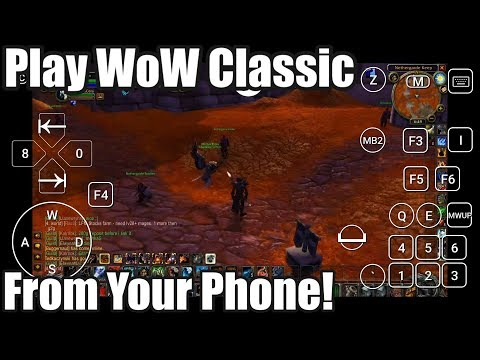 How To Play World Of Warcraft On MOBILE! Steam Link Guide