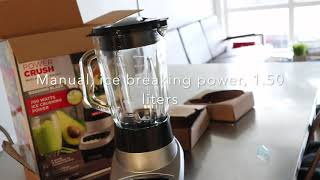 Unboxing Black and Decker Blender