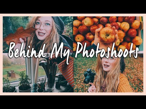 behind the scenes of my photoshoots | weekly vlog