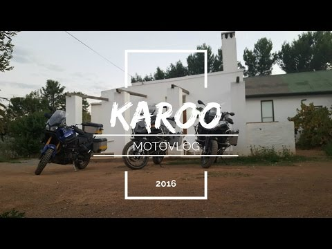 Karoo Bike Trip 2016