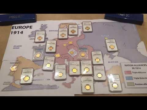 PCGS NGC Pre-WW1 European Gold Coin Collection
